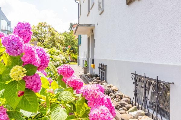Eingangsbereich von Haus Christine im Vogelsang, Ferienwohnungen in Lindau am Bodensee