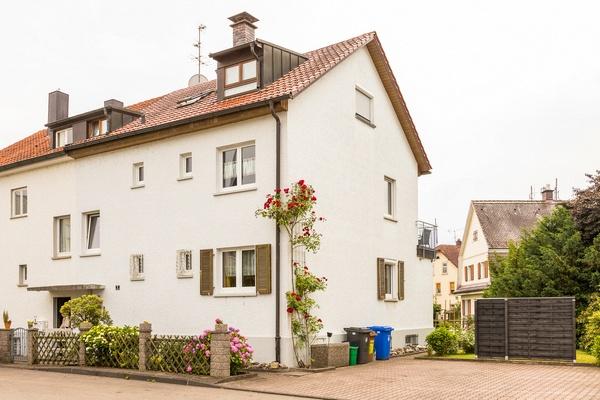 Vorderansicht von Haus Christine am Vogelsang, Ferienwohnungen in Lindau am Bodensee.