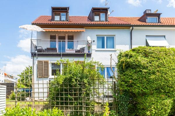 Rückansicht von Haus Christine im Vogelsang, Ferienwohnungen in Lindau am Bodensee