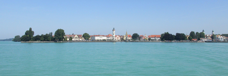 Hafeneinfahrt Lindauer Insel - Lindau am Bodensee
